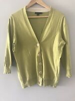 Ladies Lime Cardigan Size 10 Boden <RC414