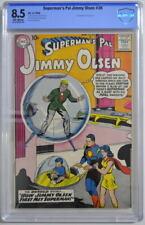 Superman's Pal JIMMY OLSEN 36 CGC 8.5 DC 1959 1st App Lucy Lane 2nd Highest