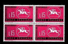 ITALIA REP. - 1961 - 3ª giornata del francobollo - 15 L. - Cavallino sardo MNH