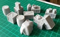 28mm Goods Warehouse Stores Set ,Scatter, Terrain, Scenery for Wargames,