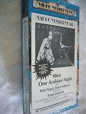 1064 ONE ARABIAN NIGHT aka SUMURUN ERNST LUBITSCH NTSC VHS SMALL BOX #ADSEEN