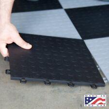 Garage Floor Tiles Interlocking Black Mats Best Coin Basement Flooring 12x12