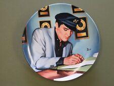 "Elvis Presley Collector Plate ""Closing The Deal"" Bradford Exchange Delphi"