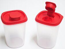 2 x Tupperware Oil Vinegar Dispenser with Dripless Spout 440ml New