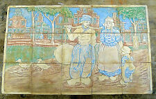 RARE Claycraft Vintage 15-Tile Dutch Panel California Batchelder