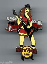 Hard Rock Online FIREFIGHTER Sexy Girl Series 1 2013 LTD. Pin. P3