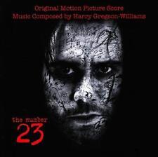 NUMBER 23 - SOUNDTRACK CD Album ~ OST JIM CARREY *NEW*