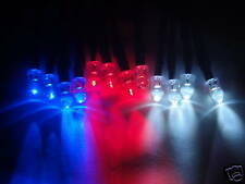 RC LED Lights 4 White, 4 Red and 4 Blue 5mm LEDs 4W4R4B P