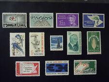 1963 US Commemorative Complete Year Set  #1230-1241  MNH OG