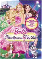 Dvd **BARBIE ♥ LA PRINCIPESSA E LA POP STAR** nuovo 2012