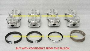 Sealed Power/Federal Mogul Chevy 305/5.0 Cast Pistons Set/8 1982-86 +20