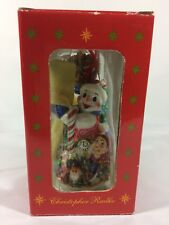 Christopher Radko 2001 Frosty Gifts Galore Ornament 1st In Series Marshall Field