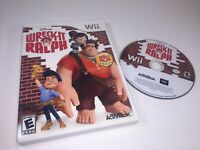 Wreck-It Ralph (Nintendo Wii, 2012) Video Game Disc Only w/ Case TESTED