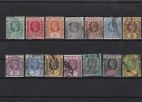 nigera 1914 used stamps cat 110+ ref 6918