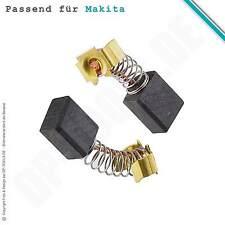 escobillas para Makita Taladro percutor HP 1621 6x9mm (CB-419)