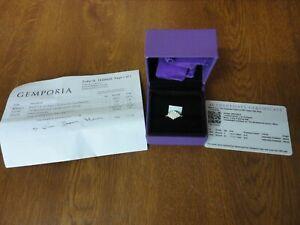 Limited Edition 1 of 15 - 1/2 ct Diamond & Platinum Ring - Gemporia / Tomas Rae