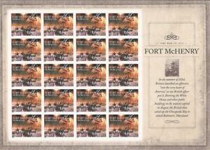 US Stamp - 2014 Fort McHenry - Sheet of 20 Forever Stamps #4921