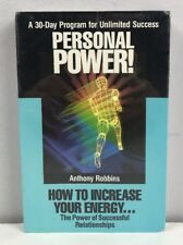 Anthony Robbins Personal Power Audio Cassette New Sealed 1989 Success Energy VTG