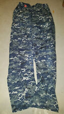 US Navy Naval Work Uniform AO1 Blueberry pants trousers Small Regular NWU SR