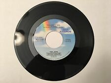 "45 RPM 7"" Record The Jets You Got It All & Burn The Candle MCA Records MCA-52968"
