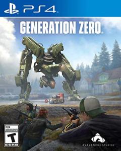 GENERATION ZERO-GENERATION ZERO GAME NEW