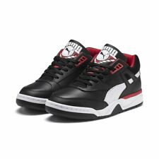 Men's Puma PALACE GUARD Black/White/Red Sneaker Trainers, Style # 370063-01