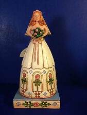 SALE Jim Shore FROM THIS DAY FORWARD BRIDE Figurine Heartwood Creek w/ box NEW!
