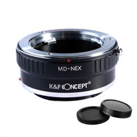 K&F Concept Adapter for Minolta MD MC Lens to Sony E-Mount Camera A7R2 A73 A7R4