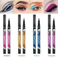 36H Colorful Waterproof Pen Liquid Eyeliner Eye Liner 4kind Beauty Pencil K5P9