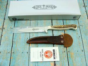 BOKER TREE BRAND 5721HH SIEGLER ARGENTINA STAG HUNTING NICKER KNIFE KNIVES