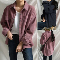 ZANZEA Women Casual Buttons Down Shirt Tops Lapel Blouse Outwear Cardigan Jacket