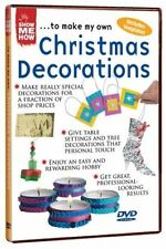 Show Me How Christmas Decorations (New DVD) Including Templates 5017559105396