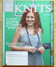 Interweave Knits Summer 2005 Knitting Patterns Teva Durham Sweater Lacy Dress