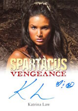 2013 SPARTACUS VENGEANCE PREMIUM PACKS - AUTOGRAPH KATRINA LAW as Mira V1