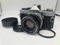 【EXC++++】 OLYMPUS OM-2 35mm SLR Film Camera + F.ZUIKO 50mm f1.8 Lens From JAPAN