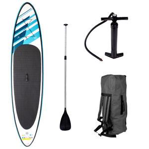 SUP Board Stand Up Paddle Surf-Board aufblasbar + Paddel Paddling 320cm 2.Wahl