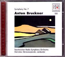 Stanislaw SKROWACZEWSKI BRUCKNER Symphony No.7 Arte Nova CD Sinfonie Saarbrücken