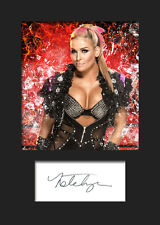 NATALYA #1 (WWE) Signed (Reprint) Photo A5 Mounted Print - FREE DELIVERY