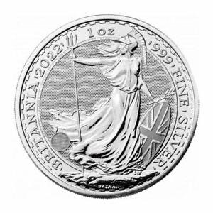 Britannia 2022 Silber 1 OZ Unze Silver Argent Großbritannien United Kingdom UK
