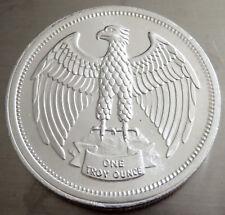 1974 LETCHER EAGLE .999 FINE SILVER INVERTED ORIENTATION OLD VINTAGE 1 TROY OZ