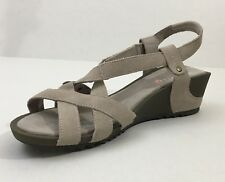 Womens New Merrell Revalli Cross Simple Taupe Sandal Size 11M Comfort Cute