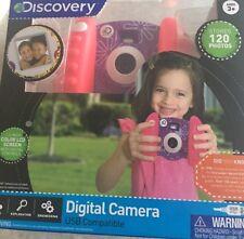 Discovery Kids - 0.3-Megapixel Digital Camera - Pink & Purple floral