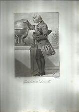 INCISIONE ORIGINALE RAME POINTILLE'_DEMARCHI, RINALDI_GIAMBATTISTA DANVILLE_1818