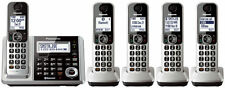 Panasonic KX-TGF375S Link2Cell Bluetooth Cordless Phone System with 5 Handsets