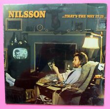 Harry Nilsson That's The Way It Is 1976 Lp Sealed Sublime Pop Rock #3446