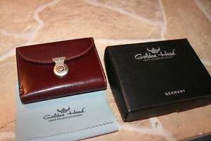Golden Head Colorado Rindleder Brieftasche Geldbörse Tobacco Schlossbörse