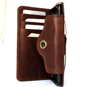 genuine retro leather case fit Huawei Nexus 6P wallet cover book strap bracket R
