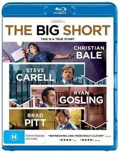 The Big Short (Blu-ray, 2016) NEW SEALED
