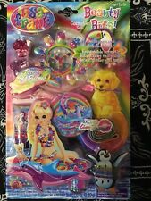 Lisa Frank Cosmetic Set Beauty Bits ~Over 150 Pieces ~Xoxo ~Finger, Nails & Hair