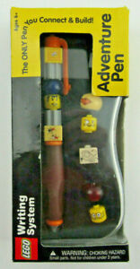 NIB Vintage 2000 LEGO Writing System Adventure Pen - Connect and Build Pen